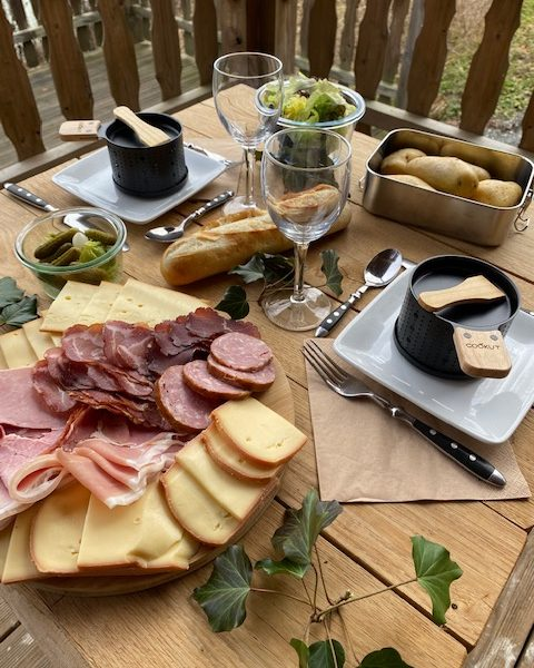 PANIERS GOURAMNDS - RACLETTE